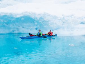 Janine in Antarctica