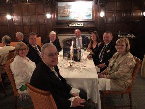 Caribbean Ian Sea Cloud Dinner at the Captains table