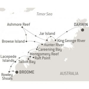 Exploring the Kimberley - with Nat Geo map