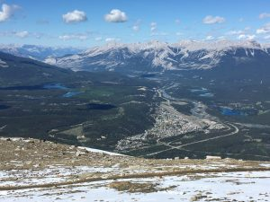 Jasper as seen from the Sky Tram summit