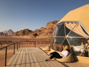 Ian at Wadi Rum Jrodan