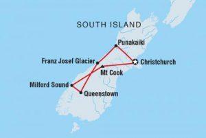 PTOSU MAP NZ South Island